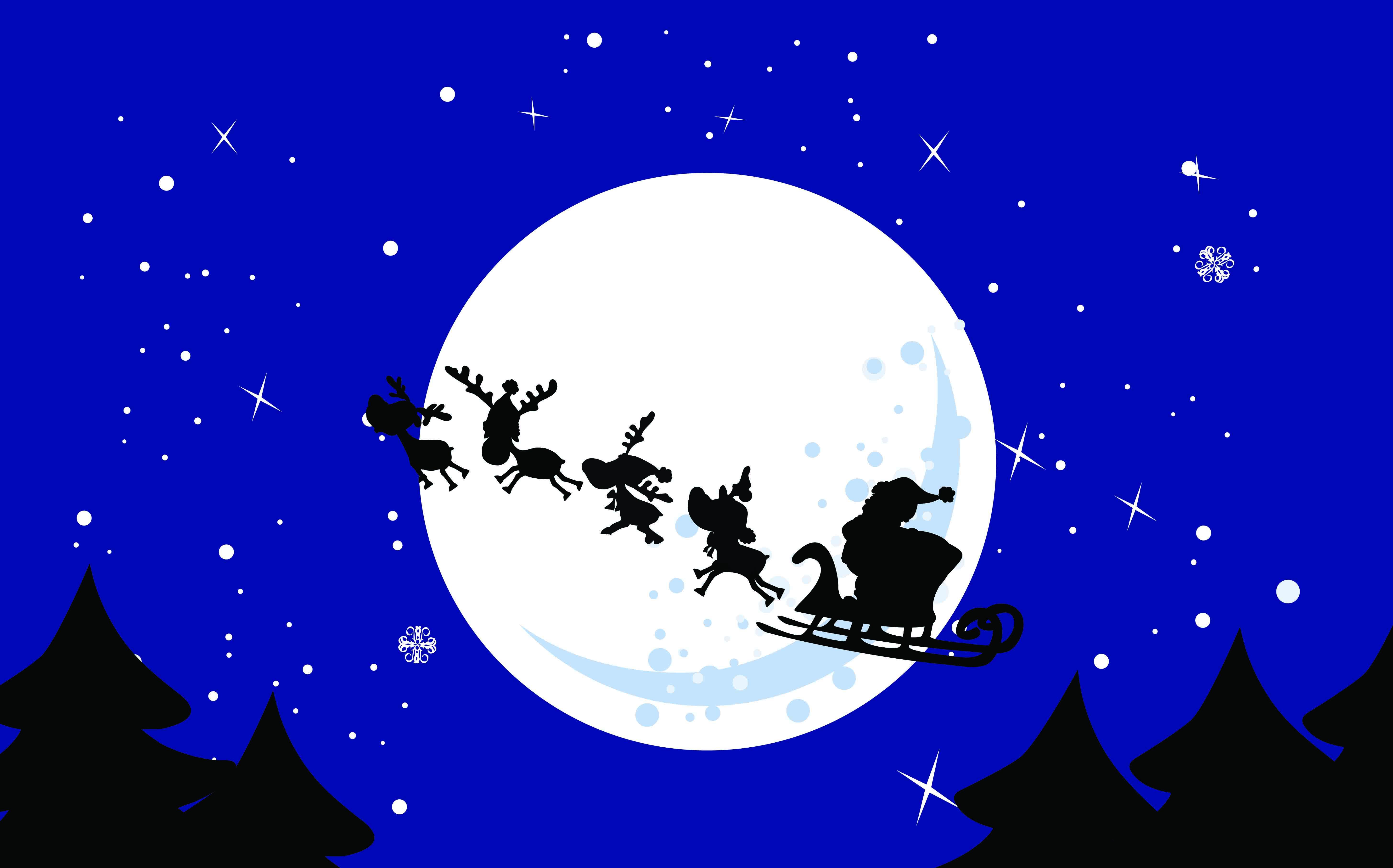 free-vector-cartoon-santa-claus-and-elk-vector_094533_Santa Reindeer (1)