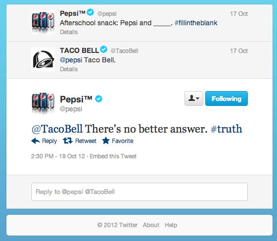 taco bell pepsi cj tweet