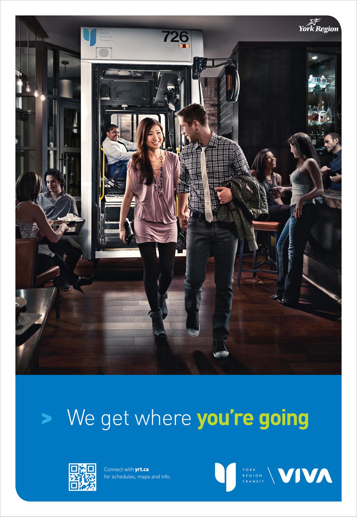 york region transit 2012 ridership poster