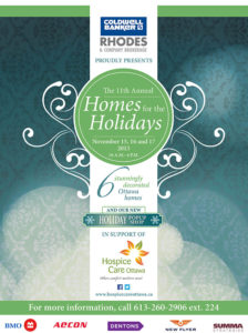 Homes for the Holidays Booklet for Hospice Care Ottawa