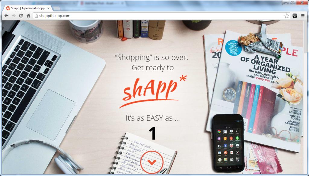 website for shApp the app