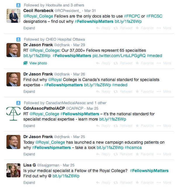 The social media conversation about Fellowship
