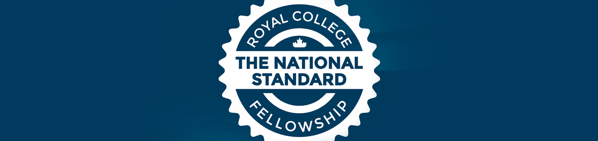 "Image of a badge we created for the Royal College of Physicians and Surgeons as part of an association membership marketing campaign called ""Fellowship Matters""."