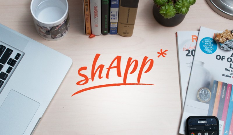 shApp logo we created, example of our Ottawa branding services