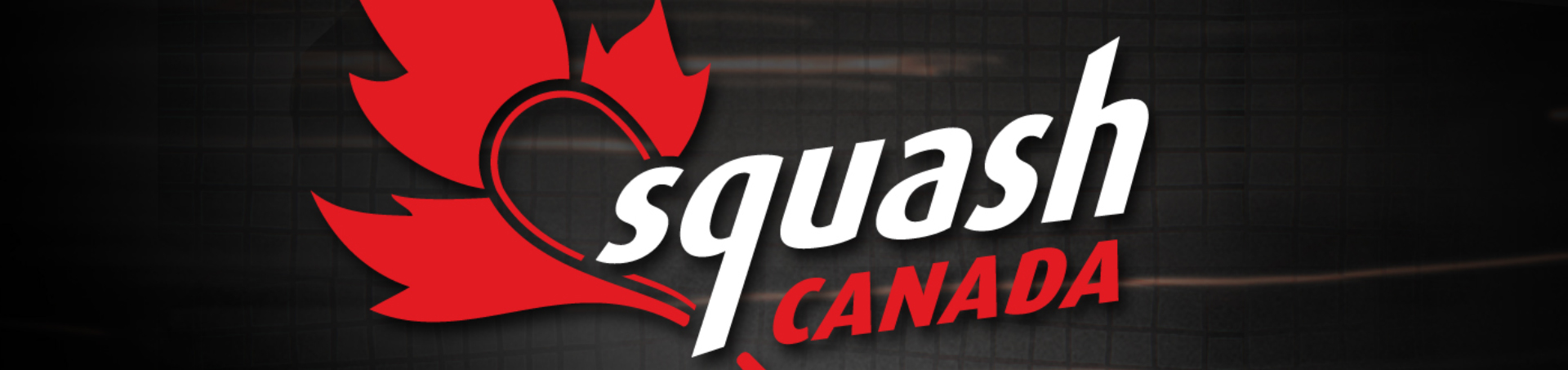 Image of the logo we created for Squash Canada as part of their sports and entertainment marketing and branding campaign, marketing for Squash events, Squash Canada branding, sports brand logos
