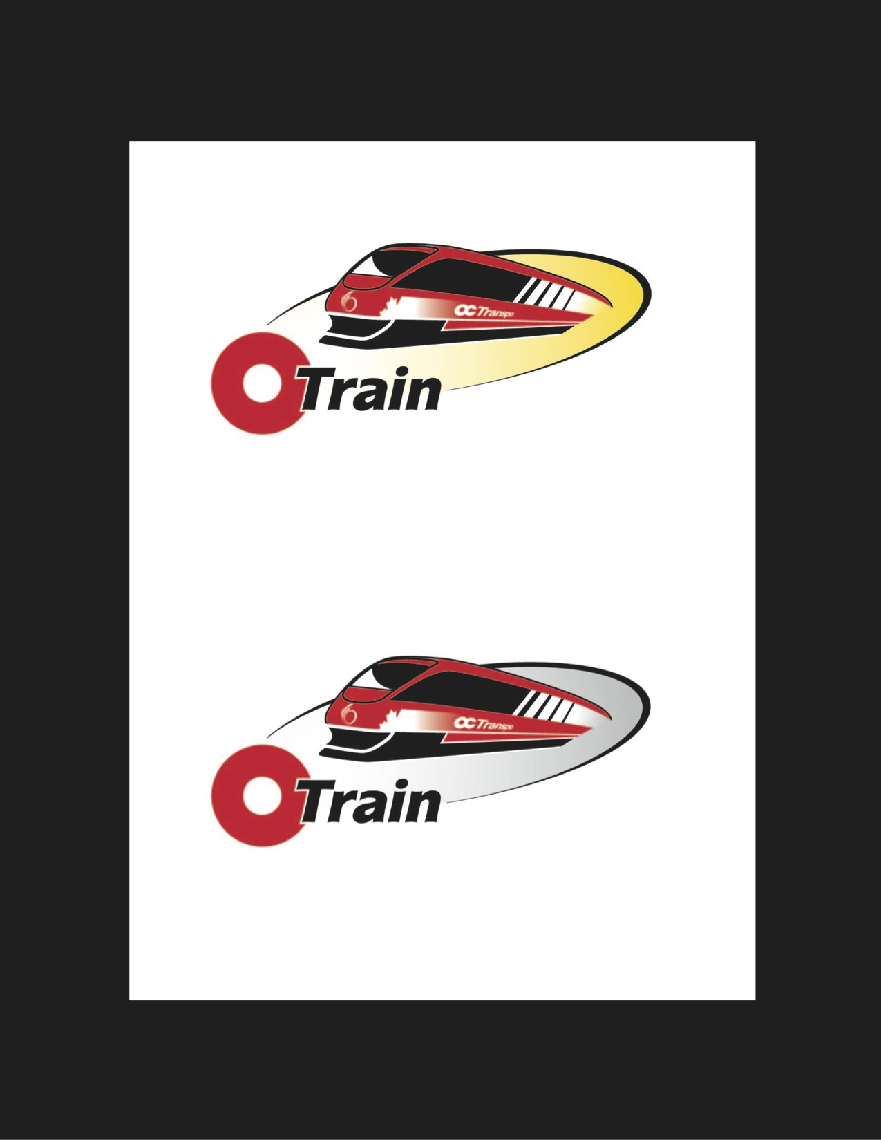 O-Train Logo Original