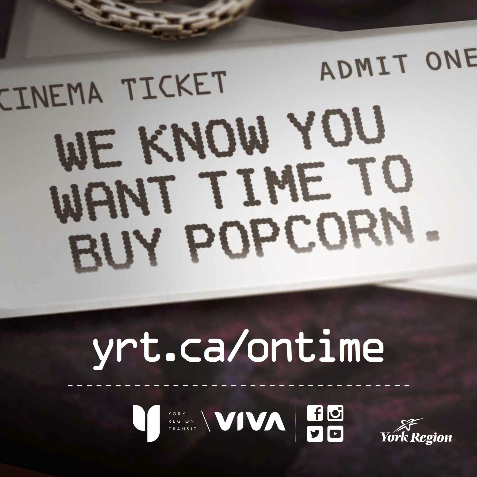 we know you want time to buy popcorn