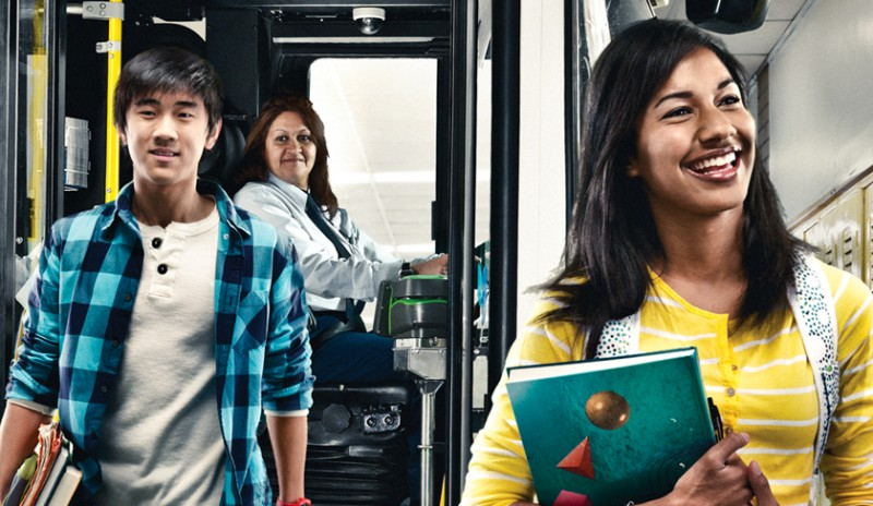 Poster from our We Get Where You're Going transit branding campaign for YRT/Viva