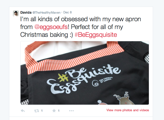 BeEggsquisite aprons on Twitter