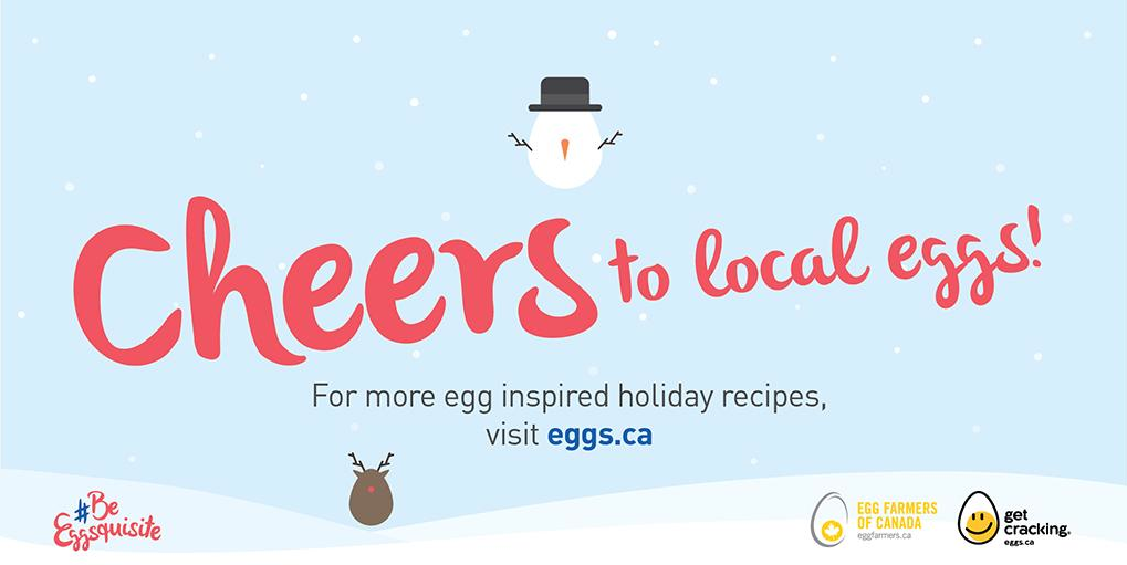 #BeEggsquisite social media campaign for Egg Farmers of Canada