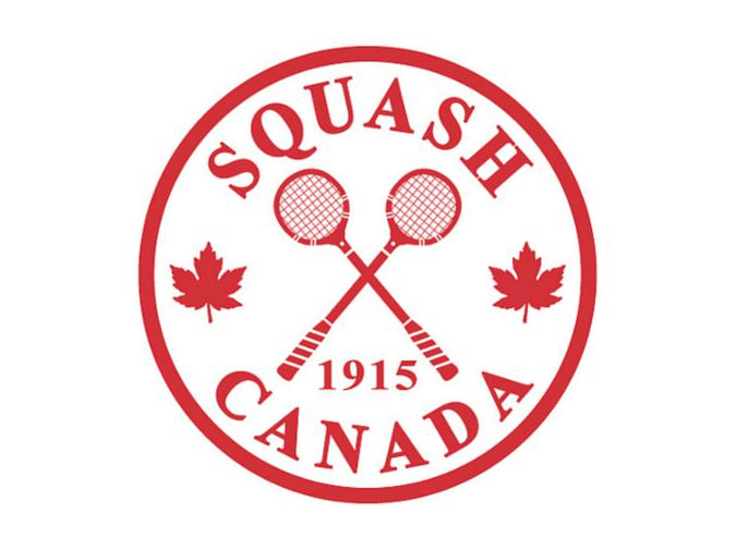 Squash Canada centennial logo