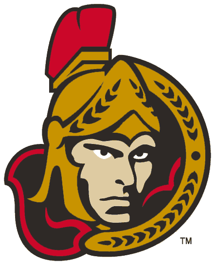 Senators 1997 Third Jersey Logo
