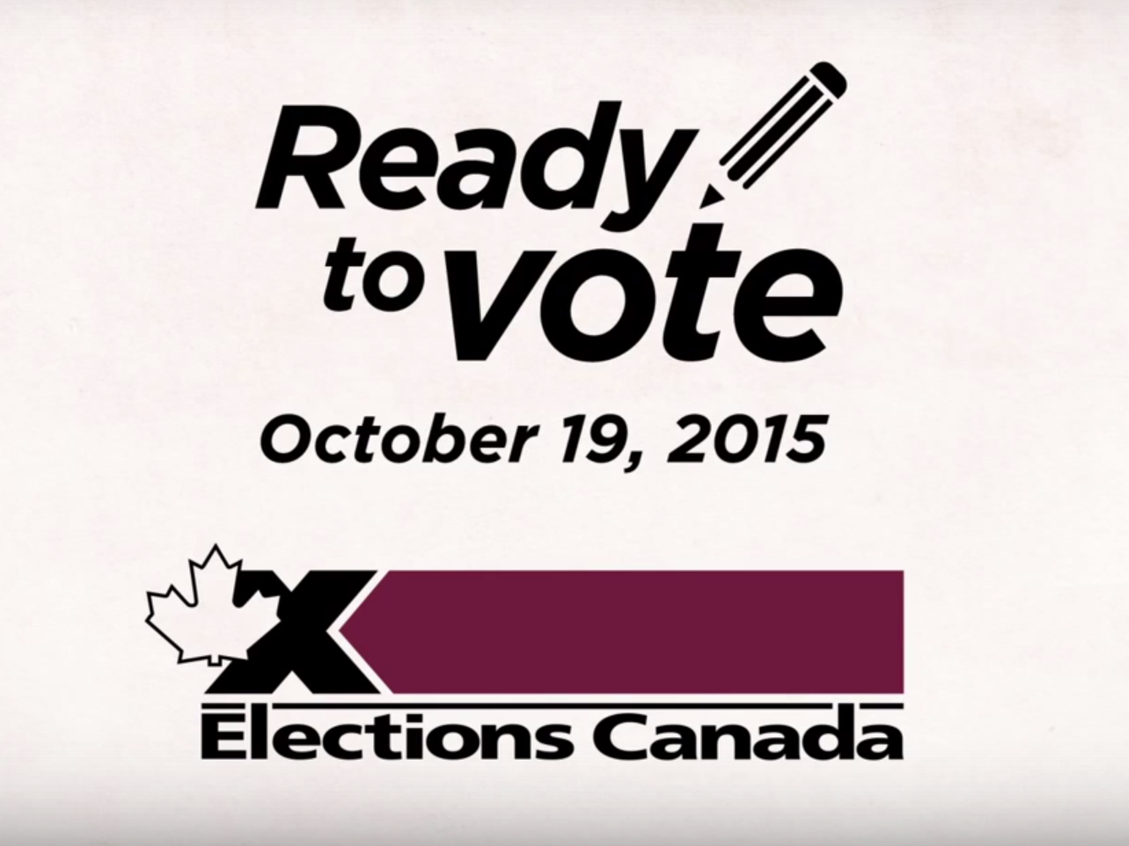elections canada ready to vote