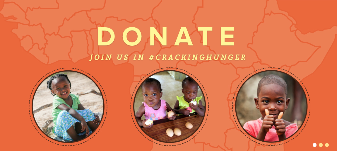 Donate and join us in #CrackingHunger