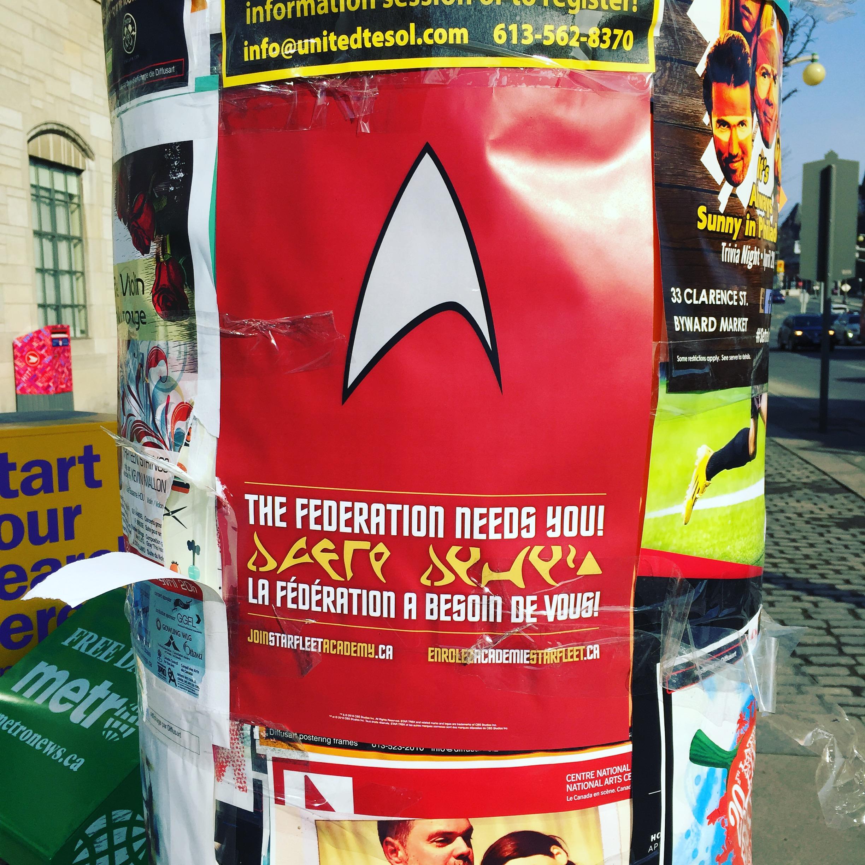 starfleetott star trek poster