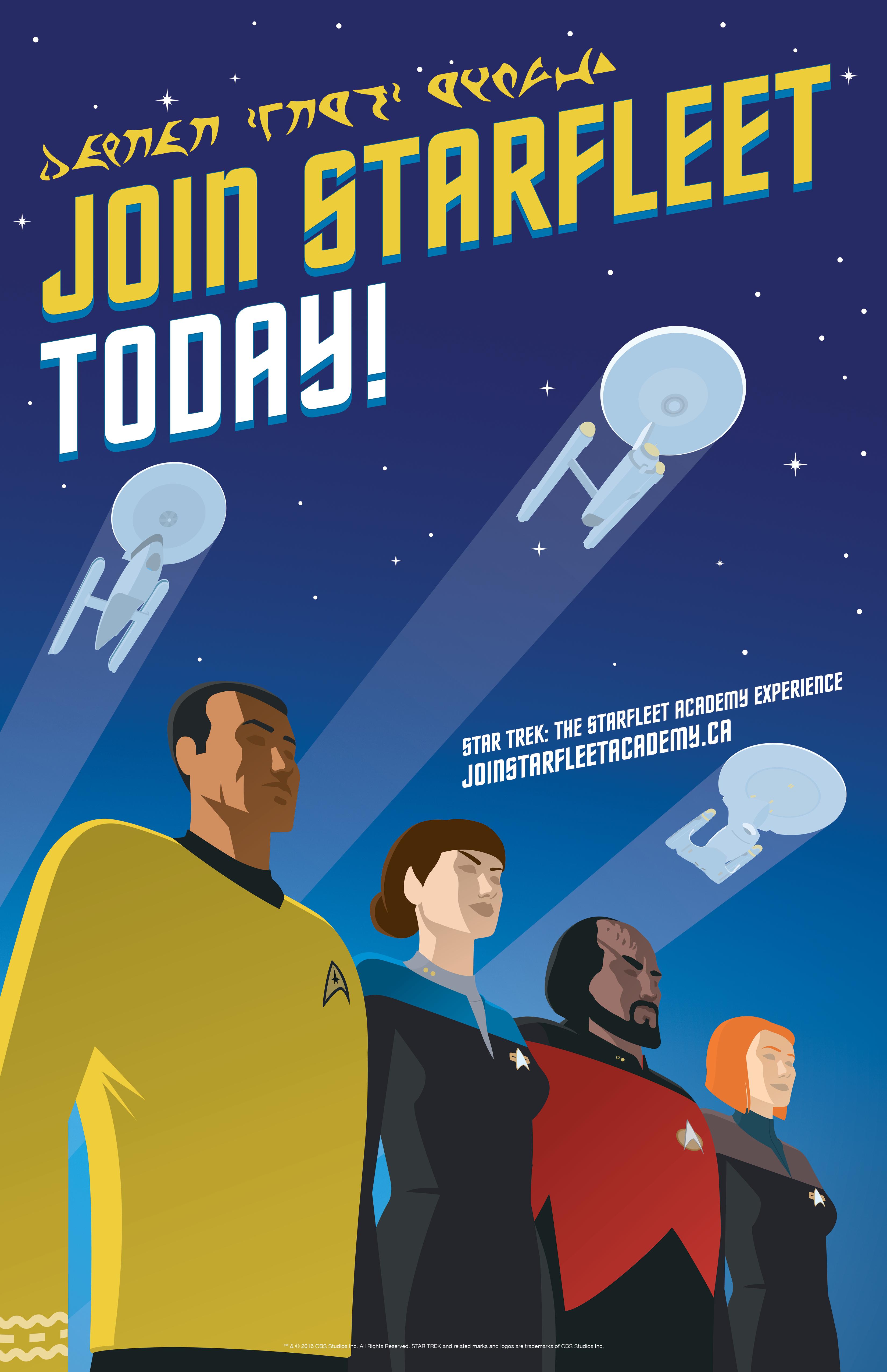 Acart Starfleet Poster EK