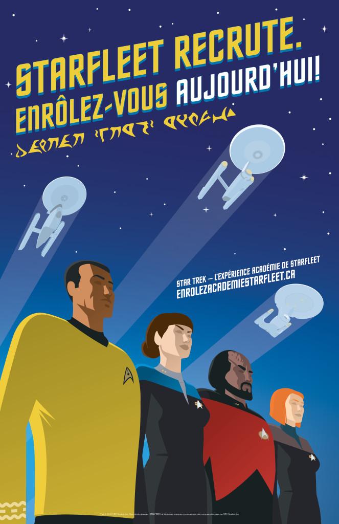 Acart Starfleet Poster FK