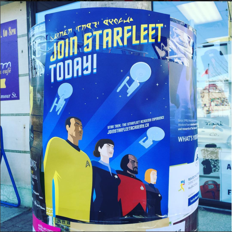 Star Trek Poster Ottawa