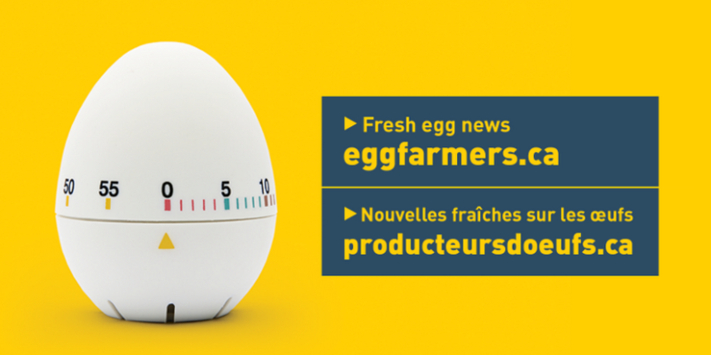 Fresh egg news: eggfarmers.ca