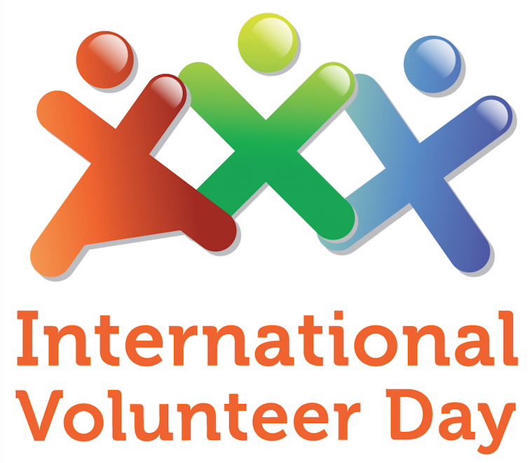 International Volunteer Day logo