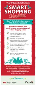 Your #CyberSafeHolidays Smart Shopping Checklist