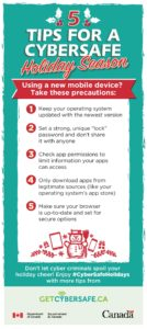 Tip sheet: 5 Tips for a CyberSafe Holiday Season