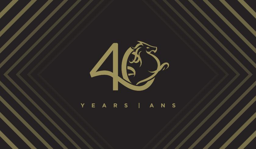 Acart 40th anniversary logo
