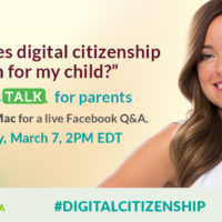 Join Tuesday's #CyberTalk on Parenting in the Digital Age!