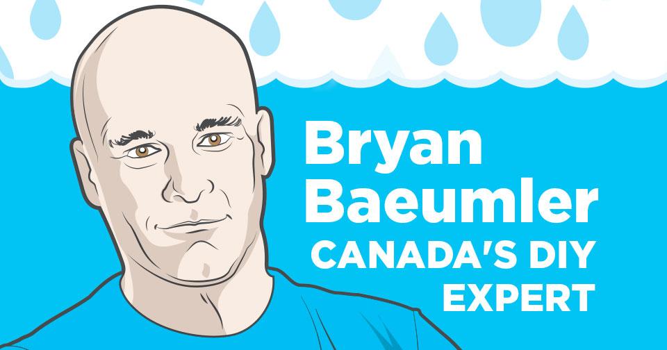 Bryan Baeumler Canada's DIY expert