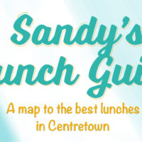 Sandy's Lunch Guide – A map to the best lunches in Centretown