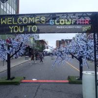 Shining Light on BikeMaps.org at Glowfair 2017