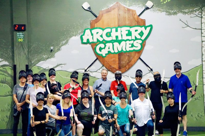 Acart at Archery Games