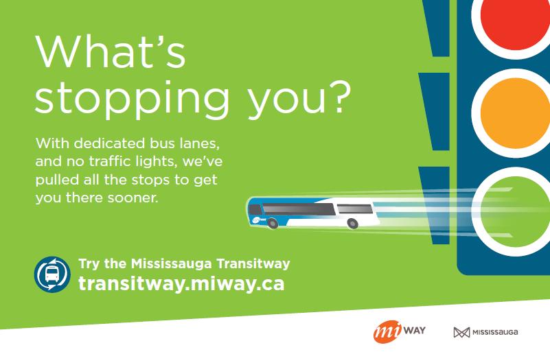 MiWay Transitway Campaign Creative
