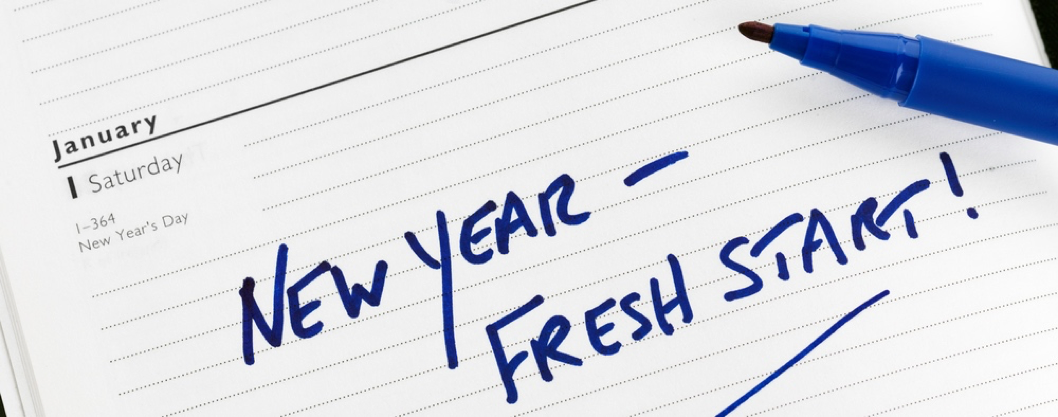 New year, fresh start!