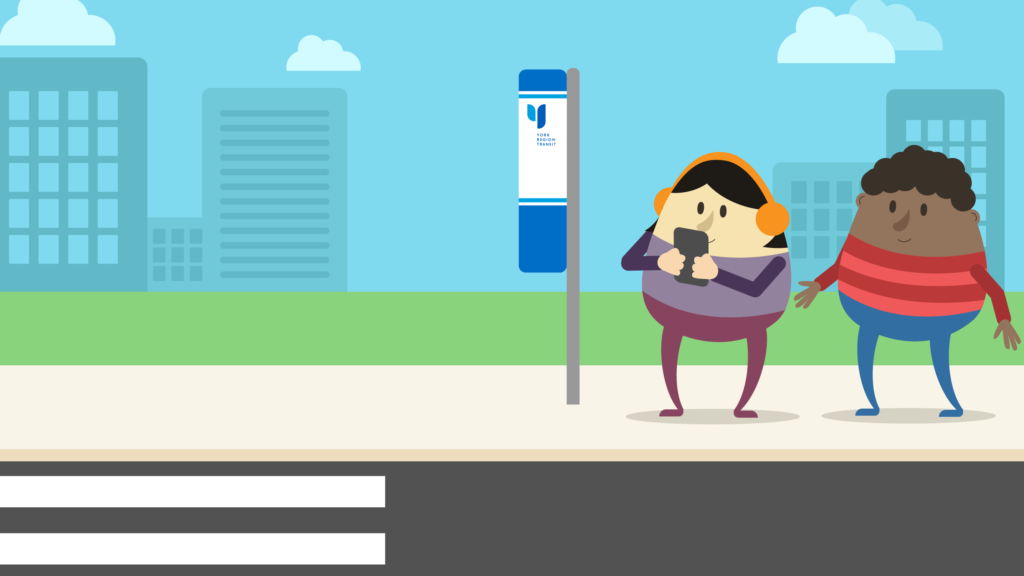 YRT travellers for safety tip videos