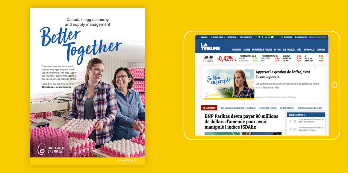 Egg Farmer Better Together - Canada's egg economy