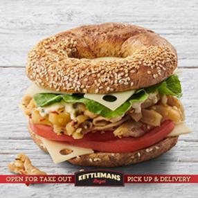 Kettlemans - Bagel sandwitch