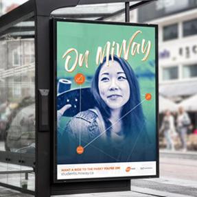 Mi Way - Bus shelter ad